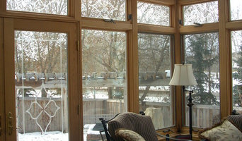 Wood Frame Studio Sunroom