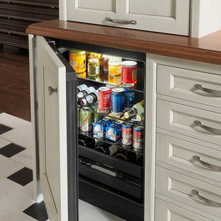 Wood-Mode's Specialized Mini Refrigerator