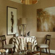 Traditional Family Room by Dillard Pierce Design Associates