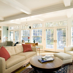 traditional family room by LDa Architecture & Interiors