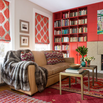 Woodley Park Residence - Red Library