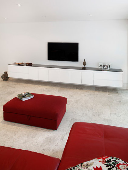 Modern Family Room by Art of Kitchens Pty Ltd