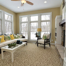 Traditional Family Room by Gonyea Homes & Remodeling
