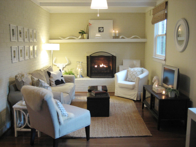Family Room by Young House Love