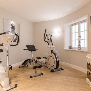 Most popular small farmhouse home gym design ideas for