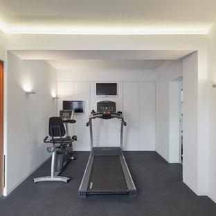 Fitnessraum einrichten  Fitnessraum Ideen, Design & Bilder | Houzz