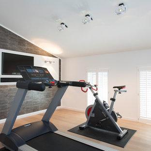Fitnessraum Ideen, Design & Bilder | Houzz