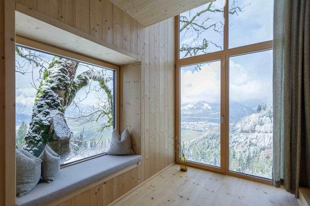 Skandinavisch Flur by Architekturbüro Gappmaier