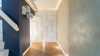 Beton, 3 D Paneele, Argile Farben