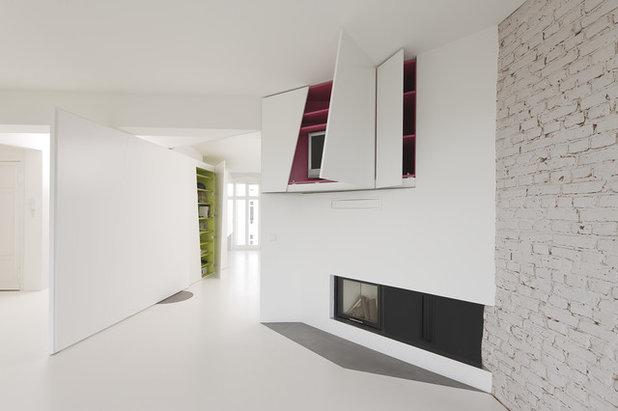 コンテンポラリー 廊下 by reinhardt_jung architektur und design