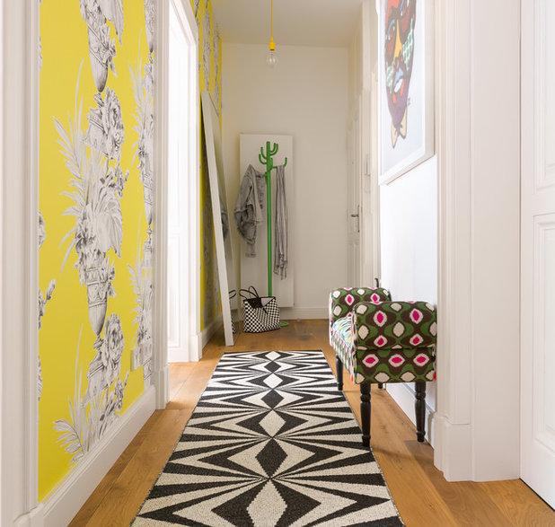 Eklektisch flur interior design