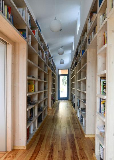 Modi per Trasformare il tuo Corridoio in una Libreria