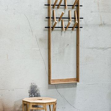 Garderobe COAT FRAME von Sebastian Jørgensen für We Do Wood