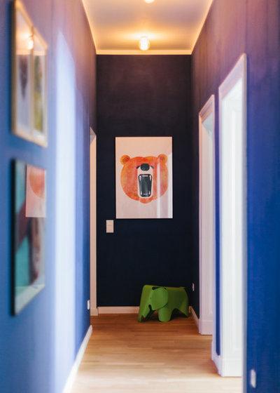 7 kleine flure mit gro em style faktor. Black Bedroom Furniture Sets. Home Design Ideas