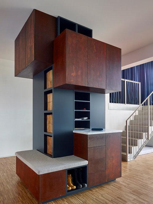 Great Groer Moderner Flur Mit Weier Wandfarbe Und In Berlin With Flur  Design With Groer Weier