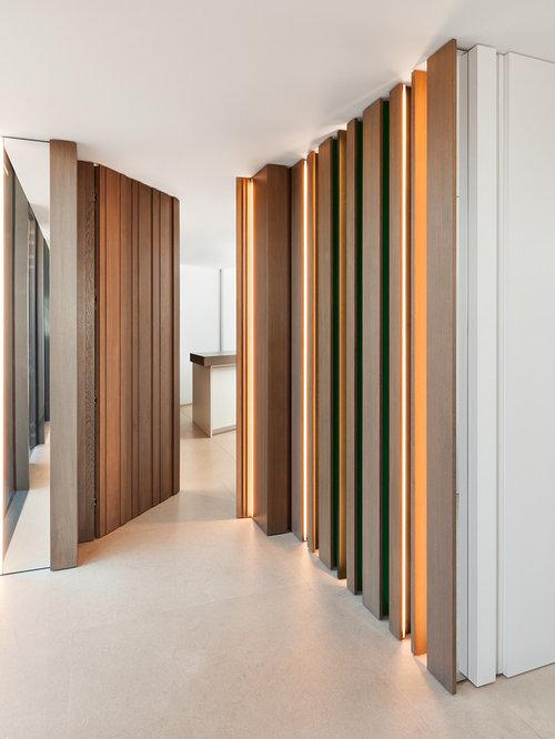 Ideas para recibidores y pasillos dise os de recibidores - Suelo de linoleo ...