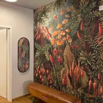 Wandgestaltung Flur