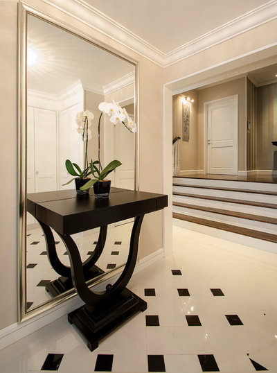 Eclectic Entry by DESIGN INTERVENTION