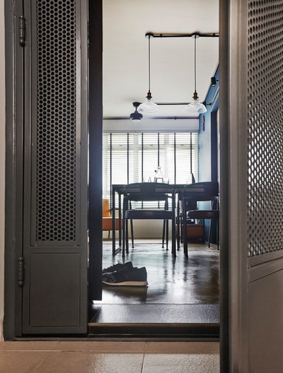 Industrial Entrance by Fuse Concept Pte Ltd