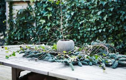 Højtid i haven: 24 tips til nem og enkel udendørs pynt i december