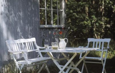 Vår i den lilla trädgården – så inreder du den bäst