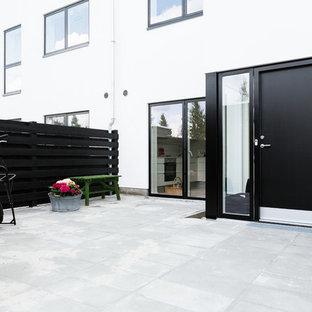 Immagine di un patio o portico nordico