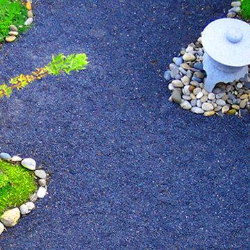 Ausschnitt Japangarten, Elsass