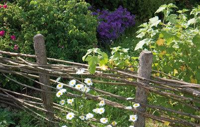 Hallo Nachbar! Natürliche und freundliche Gartenzäune