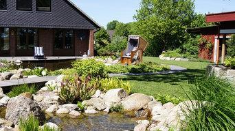 Ein schöner Garten bei Flensburg