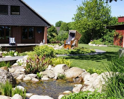 Garten ideen f r die gartengestaltung houzz for Gartengestaltung 400 m2