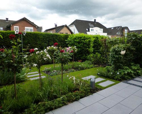 formaler reihenhausgarten, Deko ideen