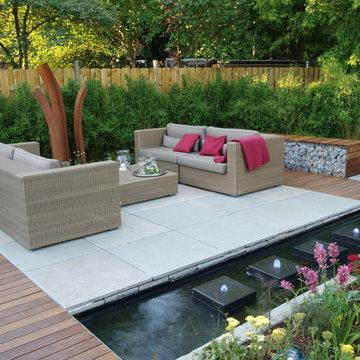 Garten für Designfreunde