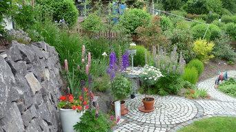 Garten im Hang