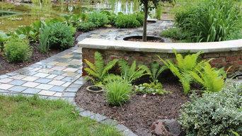Garten - Rondell am Schwimmteich