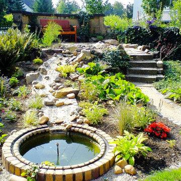 Garten und Teichausbau