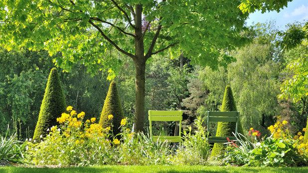 Modern Garten by Wörner grün gestalten