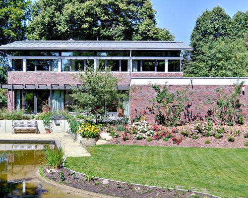 moderner garten in bremen - ideen für die gartengestaltung, Garten ideen