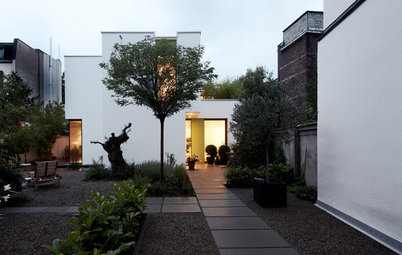 Houzzbesuch: Ein Neubau auf einem Hinterhof – mit viel Tageslicht