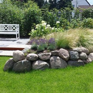 Maritimer Garten Mit Natursteinplatten Ideen Für Die Gartengestaltung