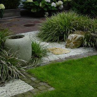 Jardin avec un bassin Brême : Photos et idées déco de jardins