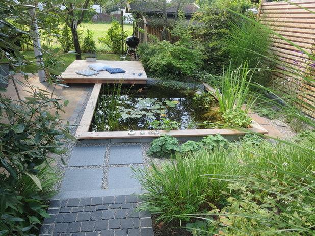 Современный Сад by Garten- und Freiraumplanung Martina Zellner