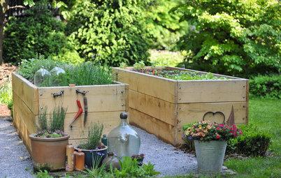 Hochbeet anlegen, befüllen und bepflanzen