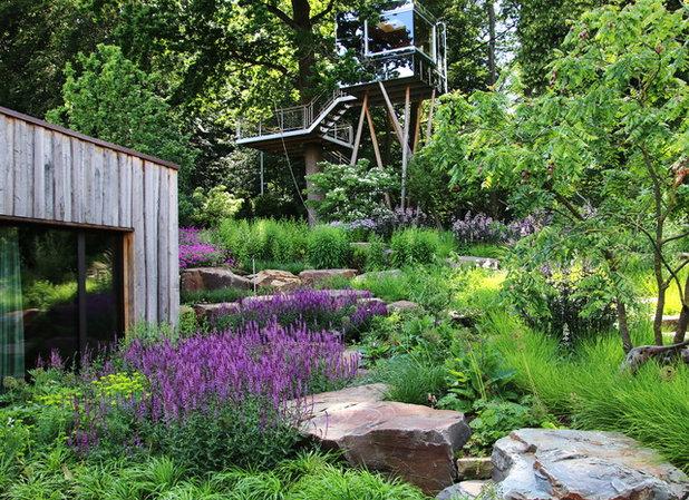 Modern Garten by PETRA PELZ FREIE LANDSCHAFTSARCHITEKTIN