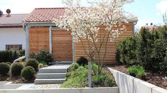 Neuanlage moderner Privatgarten