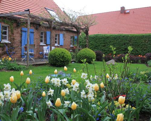 Landhausstil garten ideen f r die gartengestaltung for Gartengestaltung landhaus