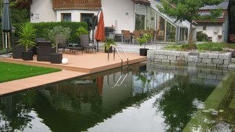 Privater Gartentraum