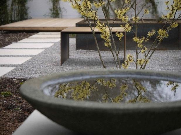 Minimalistisch Garten by FREIRAUM PLAN