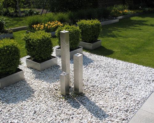 Moderner garten ideen f r die gartengestaltung for Moderner kiesgarten