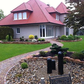 Terrassen, Plätze und Wege im Garten