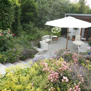 ハノーファーのコンテンポラリースタイルのおしゃれな庭の写真